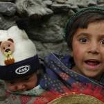 Happy Children of Mountains valleys
