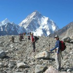 On the way to K2  base camp