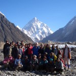 View of K2 from  Concordia.