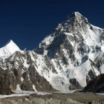 Chogori, K2, 8611 m. the most difficult peak in the world and Angle peak