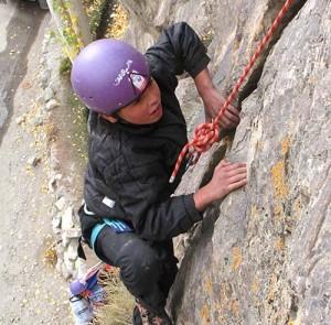 Aliabad climbing wall